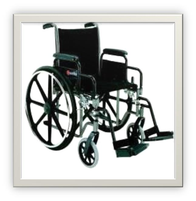manual wheelchair rental, DC